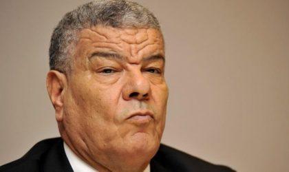 Amar Saïdani se réfugie au Maroc où il jouit de la protection du régime de Rabat
