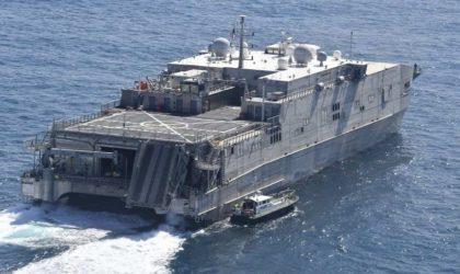 Partenariat algéro-américain : un navire de soutien logistique et d'aide humanitaire de l'US Navy à Alger