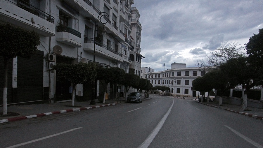 confinement Alger