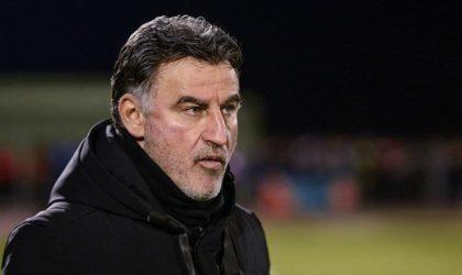 Quand l'entraîneur du club français de Lille Christophe Galtier parle de l'Algérie