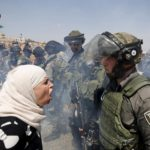 combat femme palestinienne