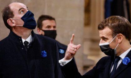 Cette provocation du parti de Macron qui a compromis la visite de Castex à Alger