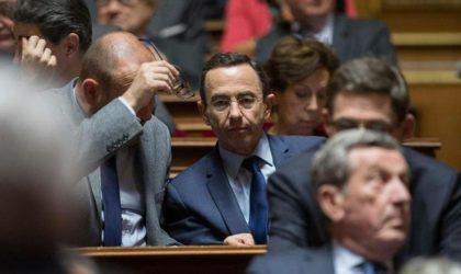 La droite française pond une loi contre le drapeau algérien et se fait dézinguer
