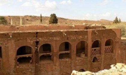Le plan de protection de l'ancien ksar de Laghouat en phase finale