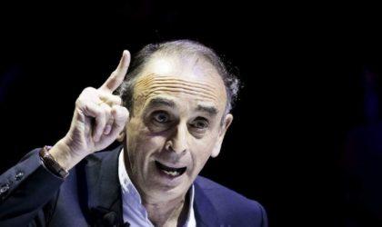 Zemmour appelle à annuler les mesures qui ont facilité l'immigration algérienne