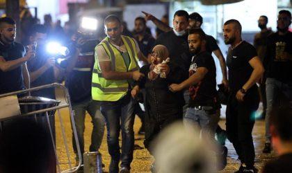 Al-Qods : près de 300 blessés dans des affrontements entre les Palestiniens et la police israélienne