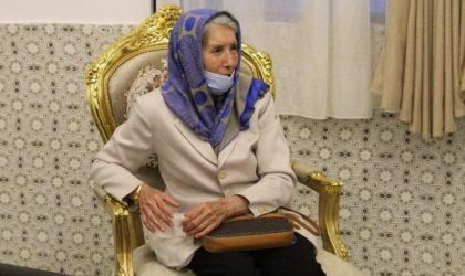 Djamila Boupacha conduit une action contre la «déstabilisation de l'Algérie»
