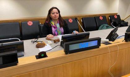 L'élection de Faouzia Boumaiza Mebarki est le fruit d'un travail diplomatique minutieux