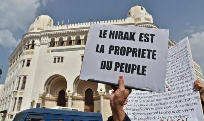 Le Hirak n'est pas la désobéissance civile