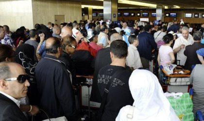 Les émigrés répondent aux mesures d'entrée au pays par le rejet et le mépris