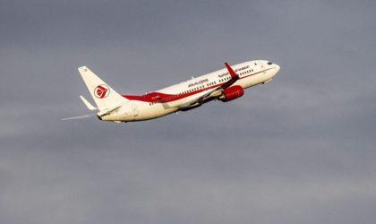 Document – Les horaires des vols d'Air Algérie de et vers la France