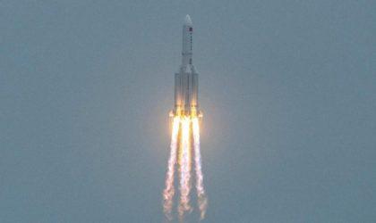 Fin de course pour la fusée chinoise au-dessus de l'océan Indien