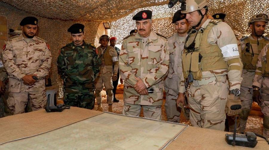 Haftar expert militaire
