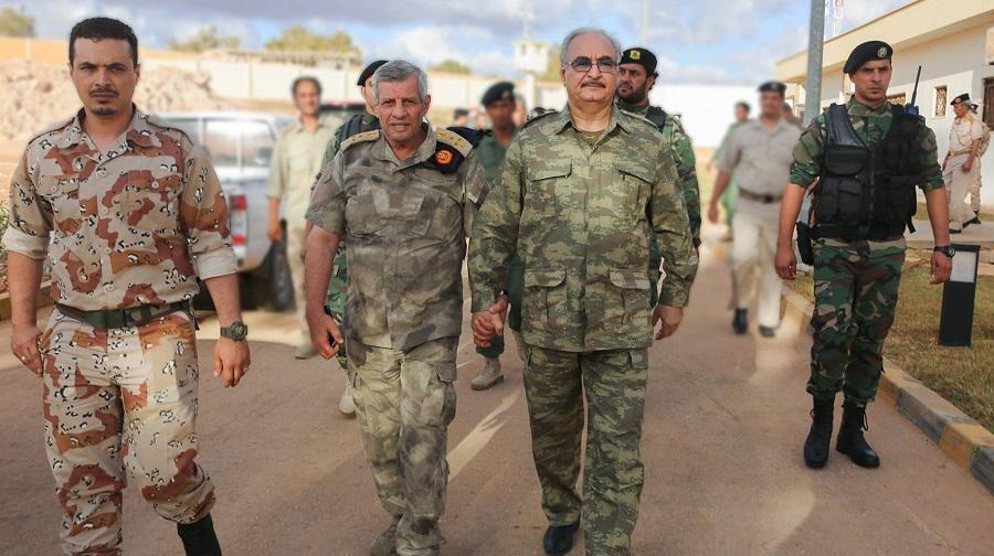 Haftar Algérie
