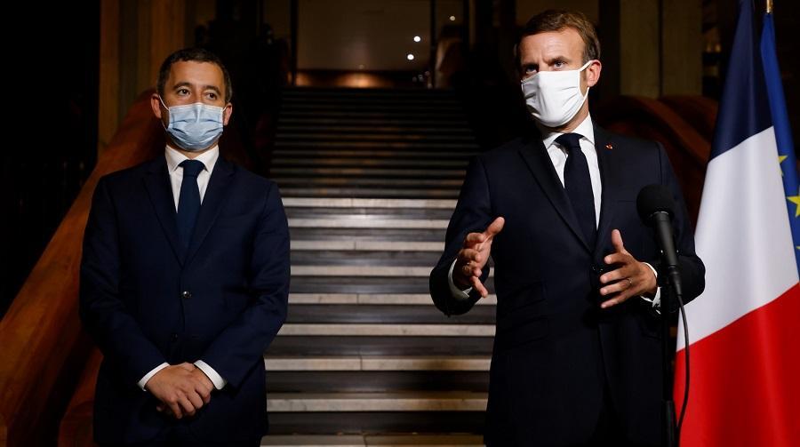 Macron Europe 1