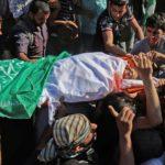 Palestinien tué centre de guerre