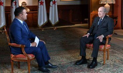 Ce commentaire du président Tebboune qui a «cloué» le journaliste d'Al-Jazeera
