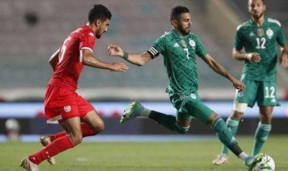 L'Algérie bat la Tunisie par 2 buts à 0 en match amical
