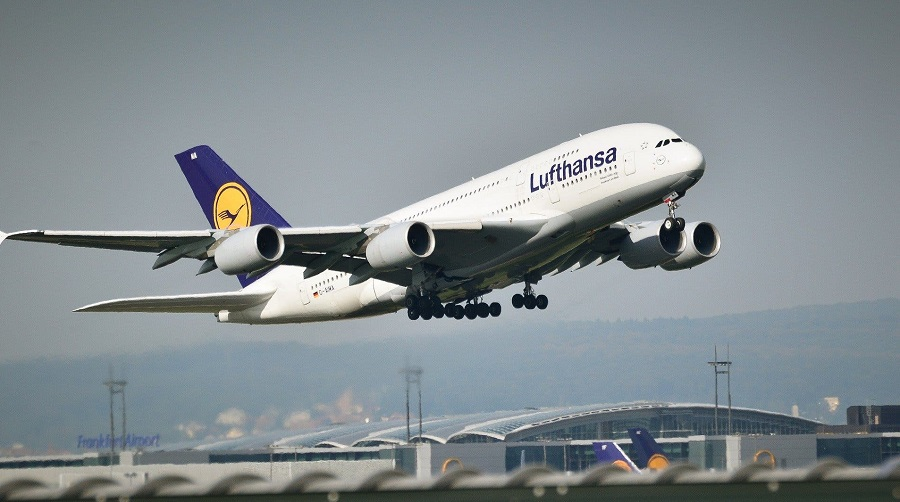 Lufthansa vol