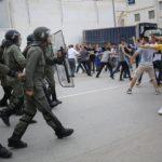 manifestation autorités marocaines