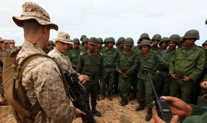 Le Makhzen ignore les zones d'un exercice militaire qui aura lieu chez lui