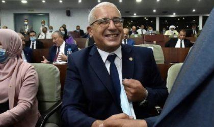 Ibrahim Boughali : un indépendant à la tête de la nouvelle Assemblée populaire nationale