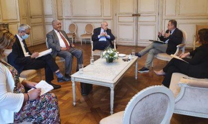 Mohamed-Antar Daoud à Bordeaux : rencontre avec le maire et la communauté algérienne