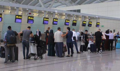 Levée de la quarantaine obligatoire pour les voyageurs à leur arrivée en Algérie