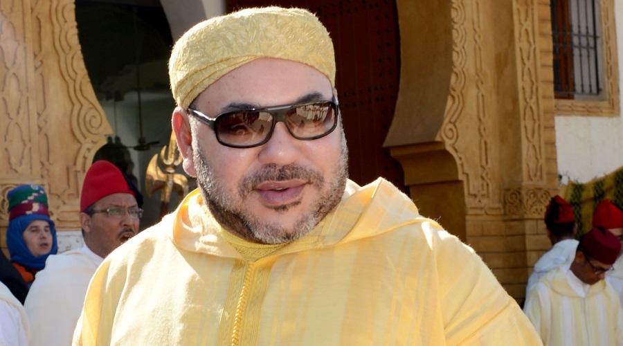 Le roi du Maroc, Mohammed VI MAK