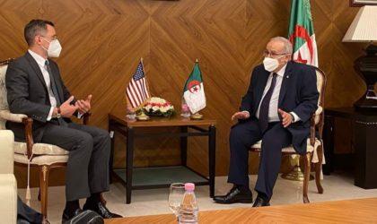 Lamamra reçoit le secrétaire d'Etat adjoint américain aux Affaires du Proche-Orient