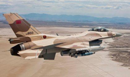 Une chaîne israélienne révèle : un F-16 de l'armée marocaine atterrit en Israël