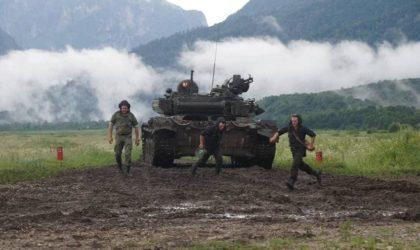 Exercice militaire tactique algéro-russe en Ossétie : fin des derniers préparatifs