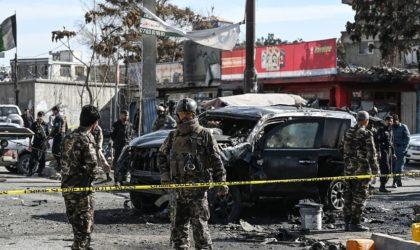 La population fuit les bombes et les balles en Afghanistan