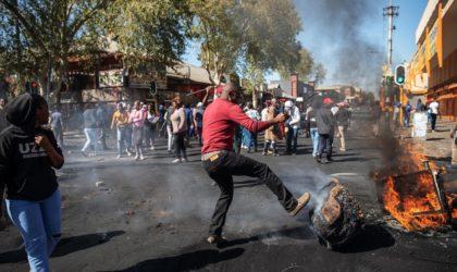 Des violences touchent de nombreuses villes sud-africaines