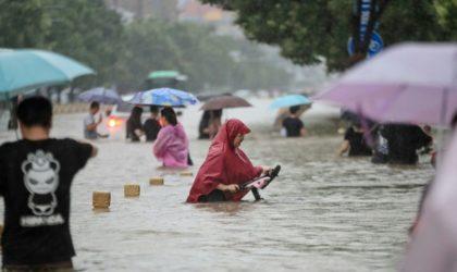 Inondations en Chine : 12 morts dans le métro de Zhengzhou