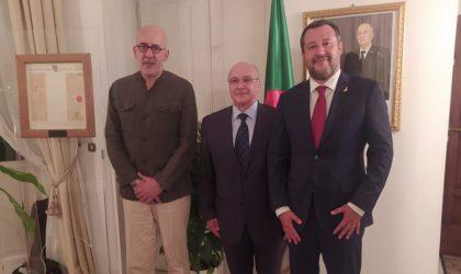 Matteo Salvini prône un partenariat stratégique et une coopération tous azimuts avec l'Algérie