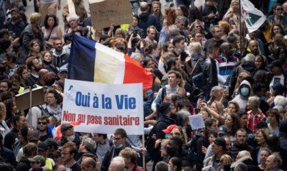 France : des manifestations dans plusieurs villes contre le pass sanitaire