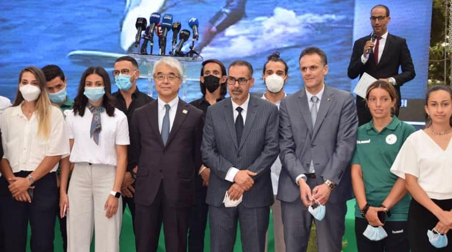 délégation algérienne Tokyo