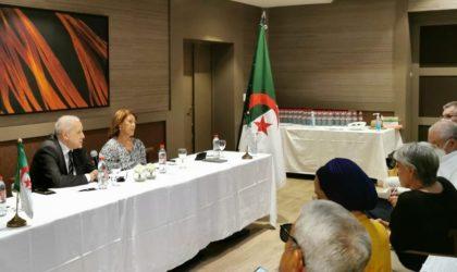 Mohamed-Antar Daoud à Nice dans le cadre de ses rencontres directes avec la diaspora