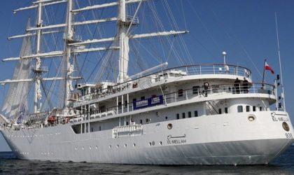 Le voilier El-Mellah achève son séjour de formation à Brindisi en Italie