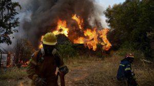 Grèce feux