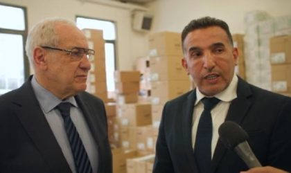 Le président de Santé Cie met 500 concentrateurs d'oxygène à la disposition de l'Algérie