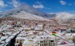 Neiges inhabituelles frappent le Pérou et la Bolivie