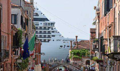 A Venise, les paquebots bannis du centre historique