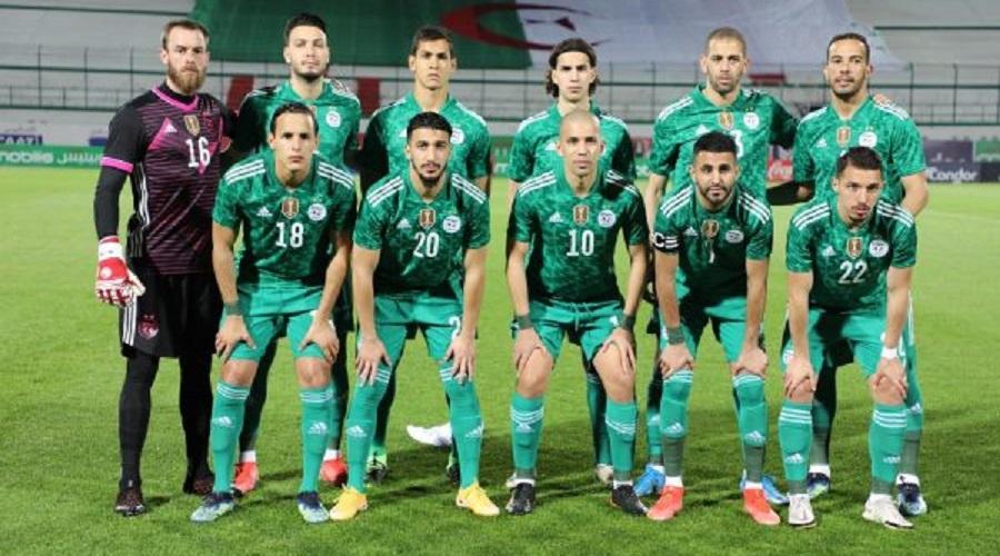équipe nationale de foot Algérie