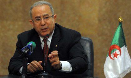 Lamamra à la chaîne CNN International : «L'Algérie devait rompre ses relations avec le Maroc»