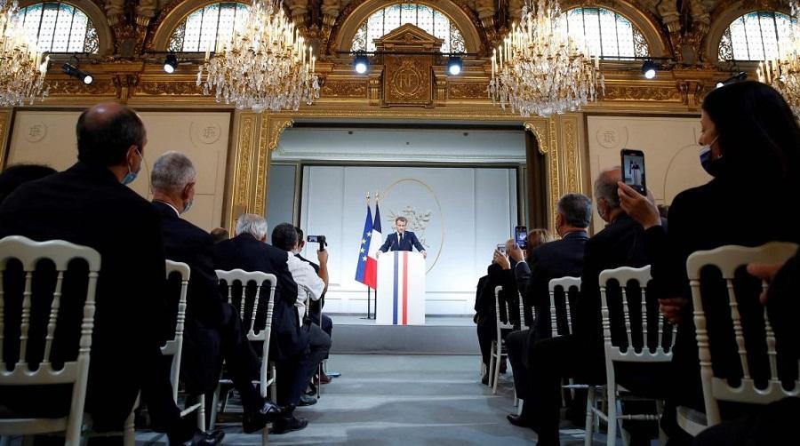 Macron discours