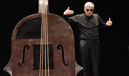 Le monodrame «Saha l'Artiste» au festival international de Budapest