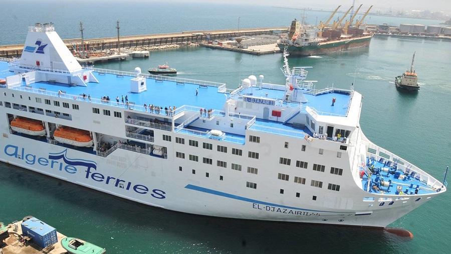 Algerie ferries transports maritimes