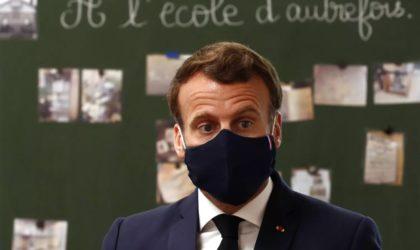 Deux académiciens français font réviser à Macron ses cours d'histoire mal appris